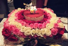 Flower  cake by Love Flower