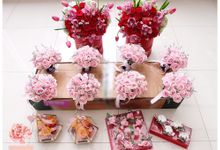Wedding & Pre Wedding Arrangements by Pivoine Flower Shop