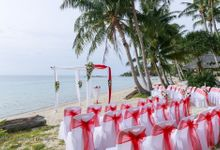 Koh Phangan - Beach Wedding - Haad Chao Pao beach by Phangan Weddings