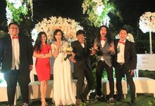 Octo & Indah Wedding at Green Forest by Josh & Friends Entertainment