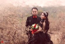 Ninda & Andrie Prewedding by NC Photo