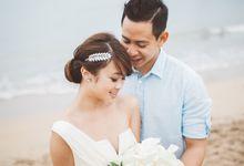 Sam & Chloe Barefoot Wedding by The Deluzion Visual Works