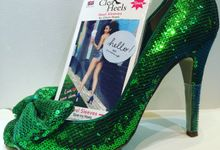 Providing Clean Heels for Weddings, Outdoor Events and parties by Dees Boutique