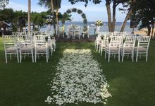 WEDDING YETI & LUCA by Fairmont Sanur Beach Bali