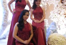 Marriot Hotel - Maroon Gown by Various Dance Enterprise