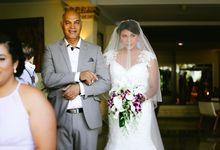 Kristen & Jeremy Wedding by HOTEL NIKKO BALI BENOA BEACH