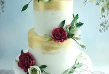 Wedding cakes by Miss Shortcakes
