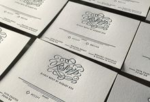 Modern Deco Themed Invitation Suite by A Good Day, Inc.