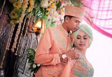 wedding Wahyu & Omat by Gladwind
