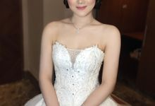 Henny Samuel Wedding by Erusamakeup