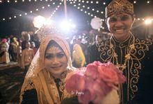 Wahyu & Vizzily Wedding by le Âmes Wedding