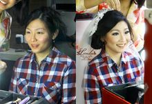 #Makeupstory of MEIRITA KANIAR by Linda Make Up Studio