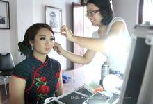 Pre wedding makeup story of SallyTimo by Linda Make Up Studio