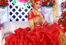 Wedding Sari & Ridho by Isma Bridal