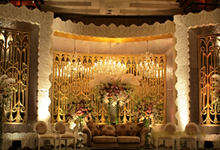 Wedding Reception by Zinnia Florist