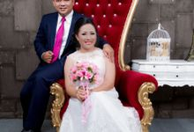 Wibi & Crystel by AM BRIDAL & PHOTOGRAPHY