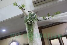 PEMBERKATAN DI GEREJA by Home Smile Florist