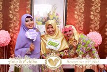 The Wedding of Anto & Meldha by Bless Photobooth