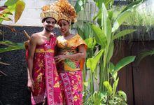 Balinese Wedding Costume Photo by Lagoon Spa Seminyak