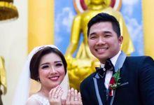 Wedding of Angga & Imelda - 21 February - Holy Matrimony & 28 February 2016 - Wedding Reception by AS2 Wedding Organizer