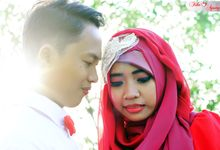 After Wedding Fika and agung by semut abang photograph