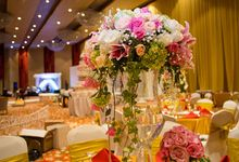 The Wedding of Albert & Sylvia Grand mercure Kemayoran by The Swan Decoration