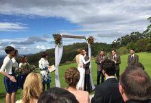 Ollie and Alexandria by Maleny Retreat Weddings