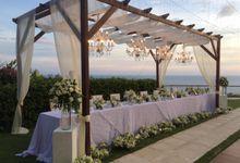 Izham and Adwina Wedding by The edge