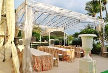 Wedding at Sentosa Cove by Outdoor Wedding Specialist