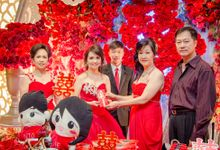 Njo Adrianto and lie man man Engagement by van photoworks