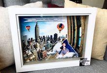 Wedding Pop Up Frame by Diva Art & Co.