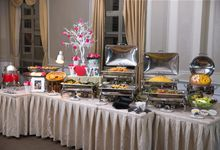 Wedding Thematic Set Up by Neo Garden Catering Pte Ltd