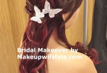 Bridal Makeover 2015 by Makeupwifstyle