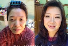 Mother of The Bride by Felicia Manik Make Up