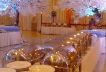 Afat Priska Wedding ,BCC Bandung by YS CATERING