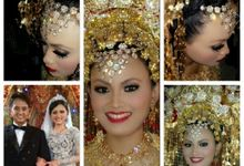 Traditional Modern Wedding by A Yan's Omintara Professional Make up Artist