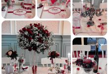 Devi Bridal shower by Rossely's Florist