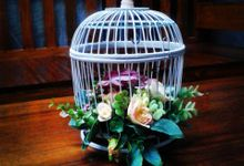 Wedding ring box by Hana Seserahan