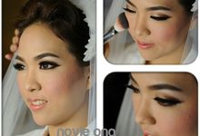 airbrush make up for wedding by novie ong beautystylist