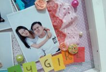 Scrapframe for Birthday Gift by Cotton Candy Jogja
