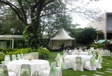 Wedding Bilal & Tri by Raffles Hills Cibubur - On Green Garden Venue