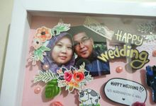 Scrapframe for Wedding Gift by Cotton Candy Jogja