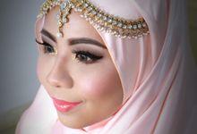 Infoning & Mumtaz Wedding 2015 by SYIFAIRFANIMAKEUP