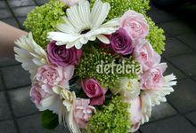 hand bouquet by Defelcia Florist