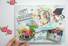 Scrapframe for Graduation by Cotton Candy Jogja