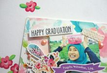 Scrapframe for Graduation Gift by Cotton Candy Jogja