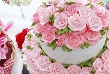 Tiered Cakes by Véranda Gâteau et Pâtisserie