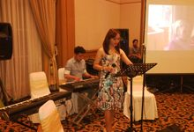 Shella and Jaka Wedding by Monica Music Entertainment