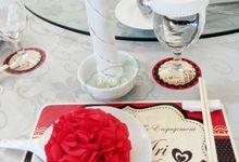 Ari & Jessica Engagement by Nonie Snack & Dessert