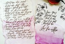 Calligraphy by Bem Zenit